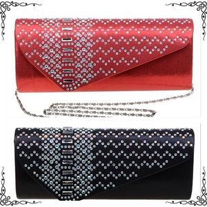 BELOW WHOLESALE NWT GORGEOUS 2 colors EVENING BAGS